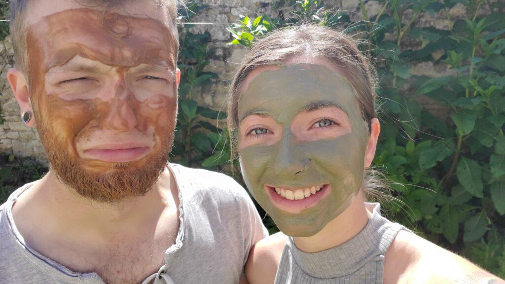 Masque visage argile et sirop d'agave